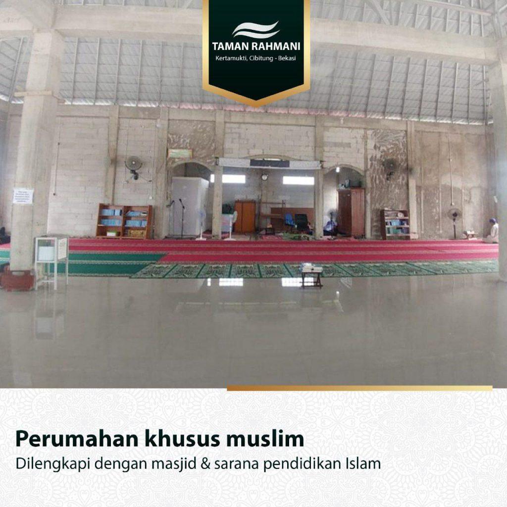 kavling-taman-rahmani-cibitung-ruang-masjid